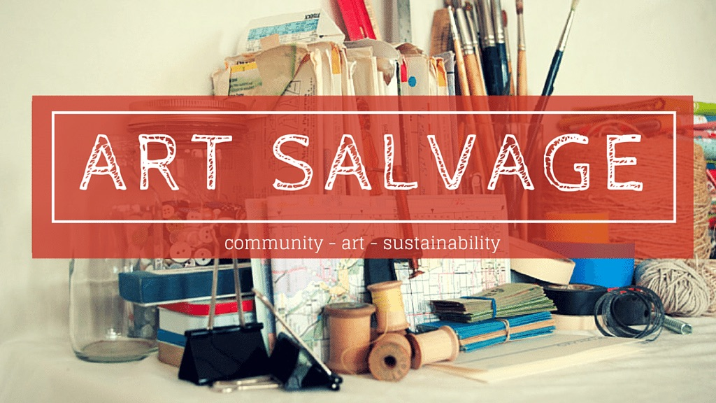 Art Salvage is coming to Art on the Ave!