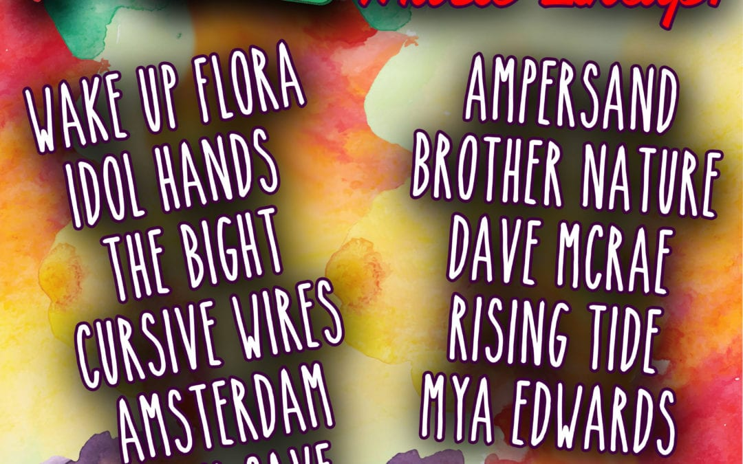 Art on the Ave's 2016 Music Line-up