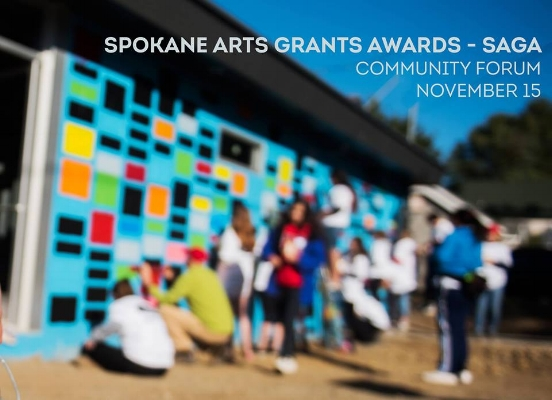 Help shape Spokane Arts' new grant program